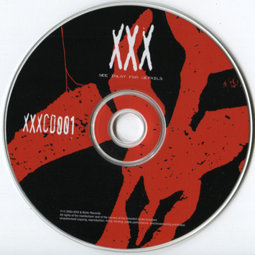 XXX Records - Discography 1999 / 2003 [Label Pack]