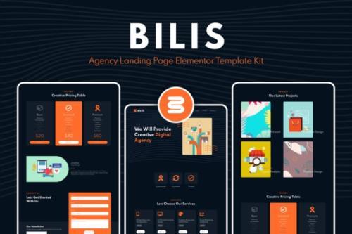 ThemeForest - Bilis v1.0 - Agency Landing Page Elementor Block Kit - 29048488