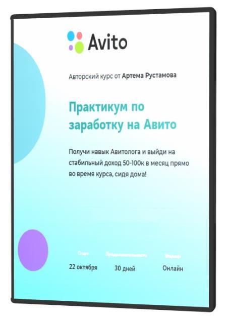 Практикум по заработку на Авито (2020) HDRip