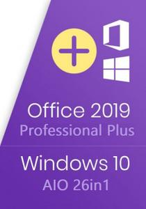 Windows 10 20H2 10.0.19042.804 AIO (x86-x64) 26in1 With Office 2019 Pro Plus February 2021 Preact...