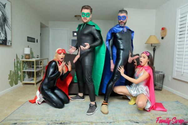 Hime Marie, Sophia West - When My Swap Family Does A Super Hero Event  Watch XXX Online HD