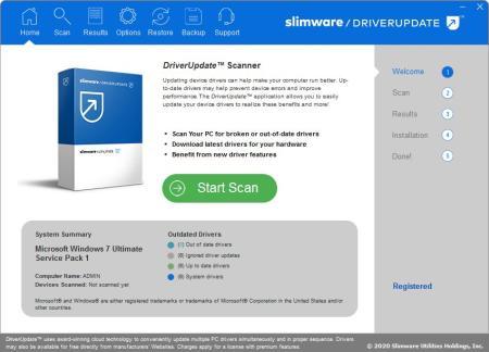 SlimWare DriverUpdate 5.8.20.65 Multilingual
