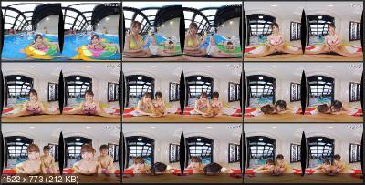 Satori Fujinami, Manami Oura, Rika Miami, Mai Kamisaki, Ruka Aise, Mei Osaka, Miho Tomii, Aimi Otosaki, Rino Harukawa, Yu Itsuki - TMAVR-094 B [Oculus Rift, Vive, Samsung Gear VR   SideBySide] [2048p]