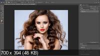 Техника ретуши волос в Photoshop (2020)