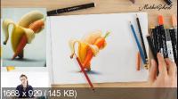 FOOD FUN - ФУД Иллюстрация. Поиск образов, идей и развитие креатива (2020)