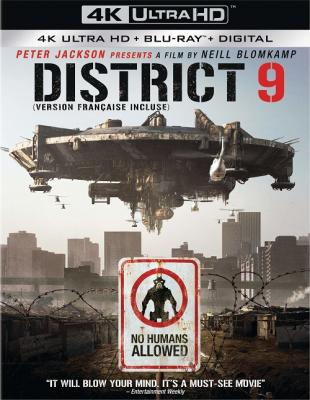 Район №9 / District 9 (2009) Blu-Ray EUR 2160p | HDR | Лицензия