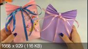 Бумажный пакет оригами для подарка (2020)