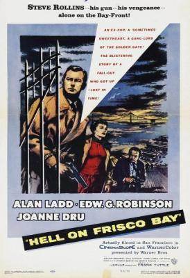 Ад в заливе Фриско / Hell on Frisco Bay (1955) BDRip 720p