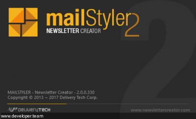 MailStyler Newsletter Creator Pro 2.10.0.100 Multilingual