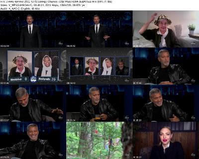 Jimmy Kimmel 2020 12 02 George Clooney 720p WEB H264-JEBAITED