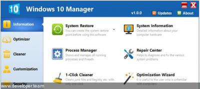 Yamicsoft Windows 10 Manager 3.3.7 Multilingual