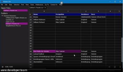Modern CSV 1.3.12 (x64)