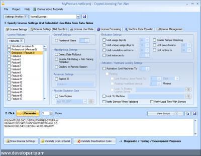 LogicNP CryptoLicensing Enterprise for Net v2020 build 200731