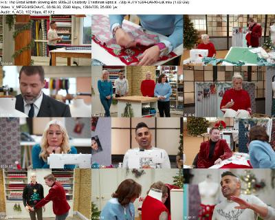 The Great British Sewing Bee S06E00 Celebrity Christmas Special 720p HDTV x264-DARKFLiX