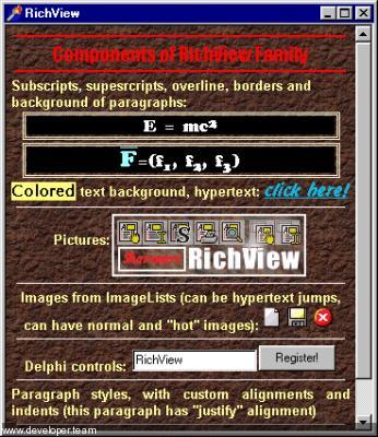 TRichView v19.0, ScaleRichView v10.0, Report Workshop v3.0 for Delphi 10.3-10.4 Cracked