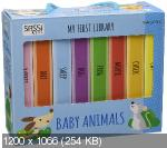 My First Library. Baby Animals: Cat. Chick. Mouse