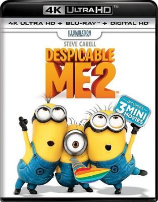 Гадкий я 2 / Despicable Me 2 (2013) BDRemux 2160p | HDR | Dolby Vision