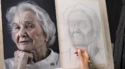 Портреты карандашом. Видеокурс для начинающих (2021) HD