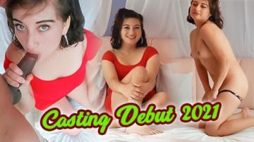 Лисбет дебютирует в порно в 19 лет - Real Кастинг 2021 (2021) 720p