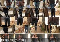 Jeans pooping and shit eating with Pinky_Prada [FullHD / 2020]