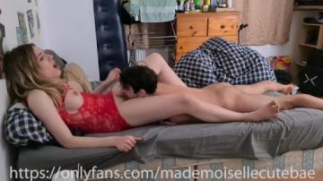 He Eats my Pussy to Intense Orgasm and then he Face Fuck - Homemade (2021) 720p