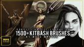 ArtStation - Kitbash brushes for Concept art (by Mels Mneyan)