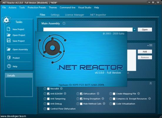 Eziriz .NET Reactor v6.5.0.0