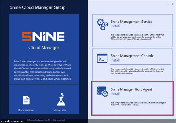 Acronis Cloud Manager (formerly 5nine Cloud Manager) v5.0.20343.1
