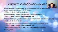 Роковые числа в вашей судьбе (2021/PCRec/Rus)