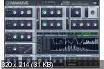 Native Instruments - Massive v1.5.8 CE-V.R VSTi, AAX x64 - синтезатор
