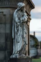 PHOTOBASH - SCOTLAND CEMETERY