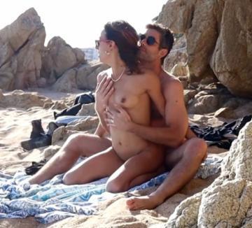 Couple Caught having Sex at the Beach (2021) 1080p