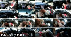 TINDER DATE CUMS IN ME IN a TESLA ON AUTOPILOT | TeslaTaylor | 2020 | FullHD