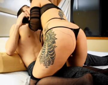 My PAWG Wife Cucks me and Lets me Join to Watch her get Creampied by her CoWorker (2021) 720p
