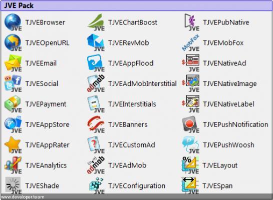 JVE Pack (JVEsuite) Component Full Source Code v21.02