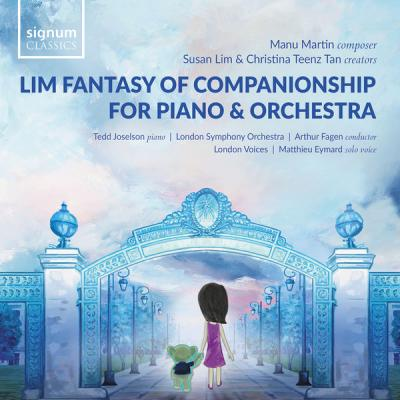 London Symphony Orchestra, Tedd Joselson & Arthur Fagen - Lim Fantasy of Companionship for Piano and Orchestra (2021) hi-res