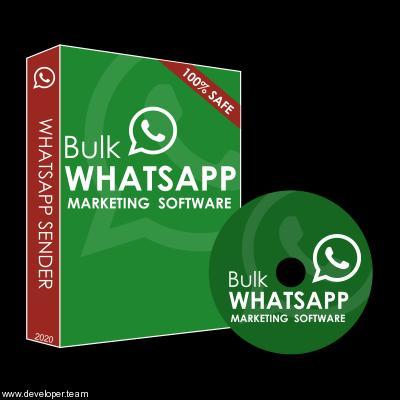 Bulk WhatsApp Marketing Software with Catalogue v3.1