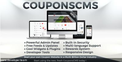 Coupons CMS v7.10
