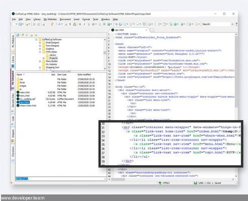 CoffeeCup HTML Editor 17.0 Build 864