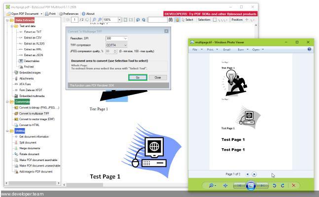 bytescout PDF Renderer SDK 12.0
