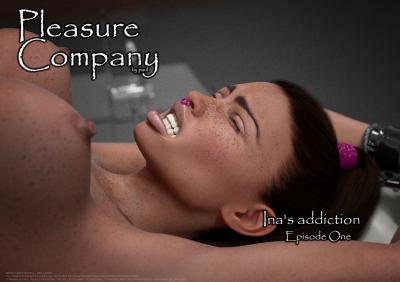 [Latex] 3DFetishComics - Pleasure Company - Inas Addiction - Chapter 1-6 from Episode 1 (English) - Submission