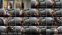 Redkittycat - Risky Sex in the Public Elevator | Amateurporn | 2020 | FullHD