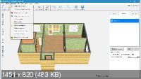 Дизайн интерьера 3D 5.21 + Конструктор шкафов-купе 1.25
