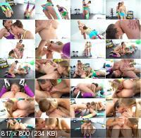 FitnessRooms - Dominic Anna, Emylia Argan, Stacy Cruz - Euro teen pussy licking oral train (FullHD/1080p/1.13 GB)